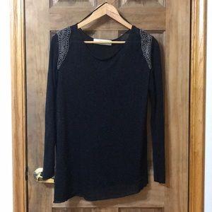 Zara Sheer Knit Top